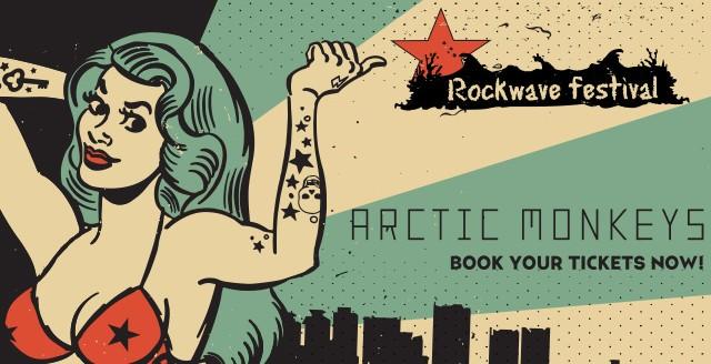 ROCKWAVE FESTIVAL 2018 DAY 1 : ARCTIC MONKEYS