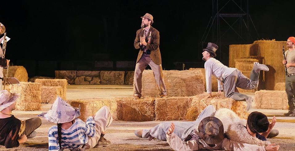 Πλούτος του Αριστοφάνη στο Αρχαίο Θέατρο Επιδαύρου
