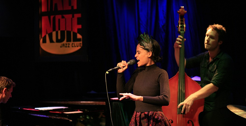 Agathe Jazz Quartet live @ Half Note - Review