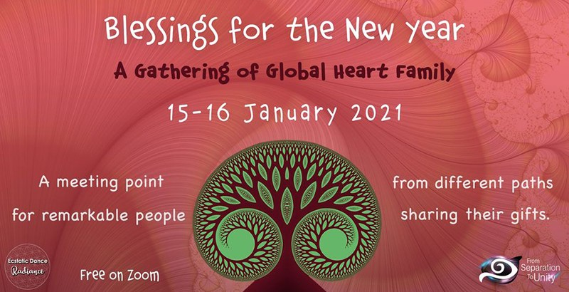 Blessings for the New Year - A Gathering of the Global Heart Family